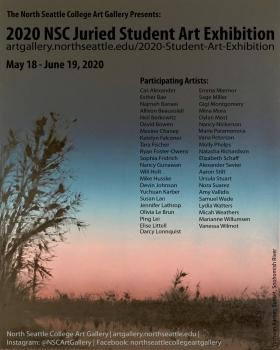 2020 NSC Juried Student Art Exhibition